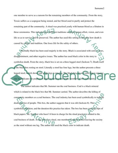 Persuasive Essay Thesis Statement Examples Symbolism In The Short Story Essay Health also English Language Essay Symbolism In The Short Story Essay Example  Topics And Well Written  Good Essay Topics For High School