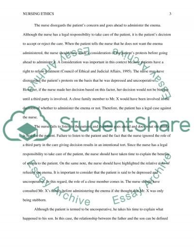 Patients Right essay example