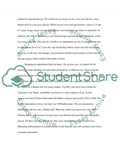 Online blog research essay example