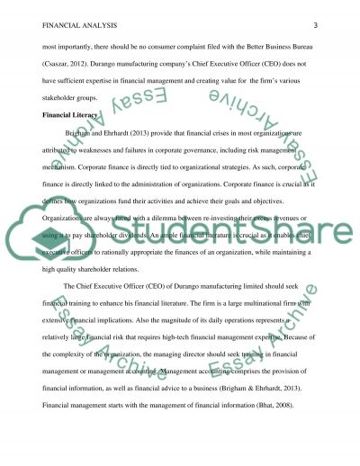 Assignment 3: Capstone Research Project essay example