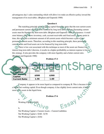 Problem solving essay assignment