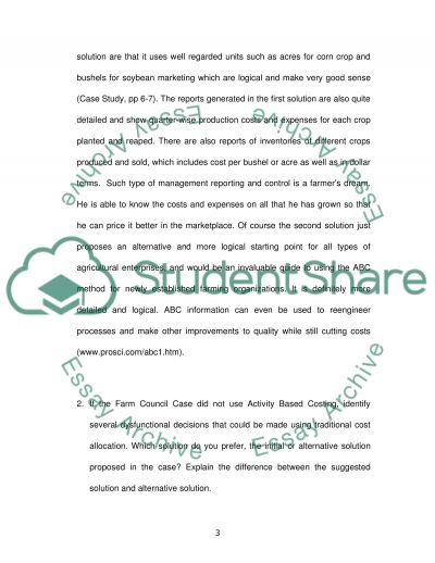 Farm Financial Standards Council Case Study essay example