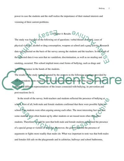 Differences of Perceptions of the Amount of School Bullying Between Students and Staff