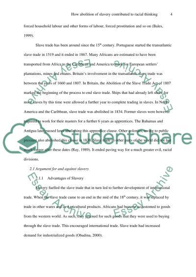 slavery abolition essay