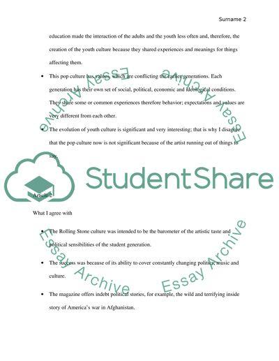 Response essay topics