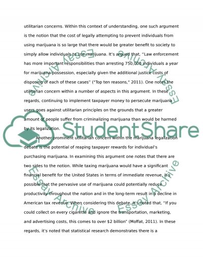 should marijuana be legalized essay example topics and well  should marijuana be legalized essay example