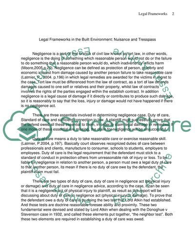 BUSINESS LAW Master Essay