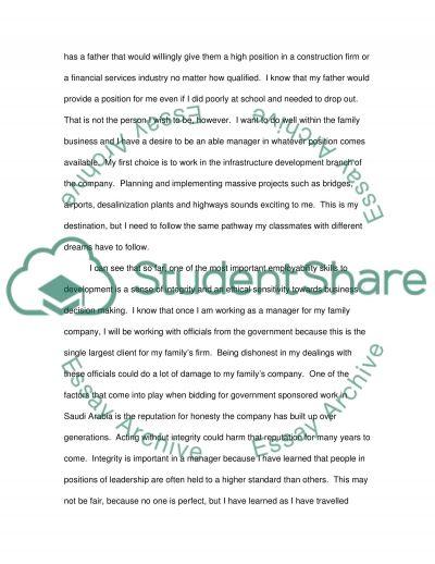 Personal development planing 2 essay example
