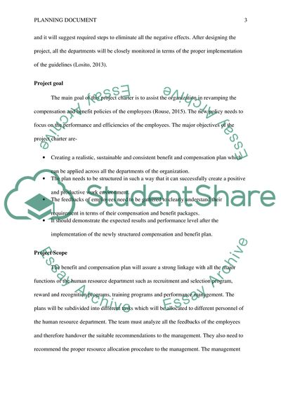 Assignment 1: Planning Document