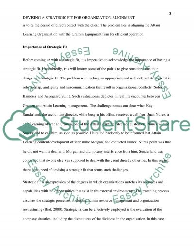 Discussion paper addressing the situation at Attain Learning (AL) essay example