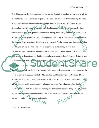 Child Psychology Essay Example  Topics And Well Written Essays  Child Psychology Example Of A College Essay Paper also Thesis Statement For Process Essay  Essays On Science And Technology