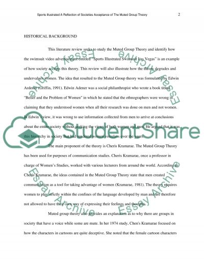 Literature review Research Paper example
