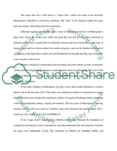 Major essay