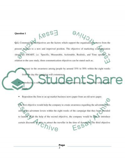 Marketing Communication and Branding essay example