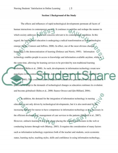 Students` Satisfaction with Online Courses essay example