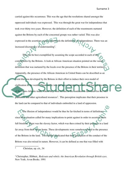 American Revolution Essay Example  Topics And Well Written Essays  American Revolution Essay My Family English also Example Proposal Essay  Proposal Essay Topics List
