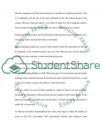 American History essay example