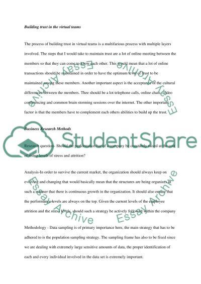 Essentials of Management essay example