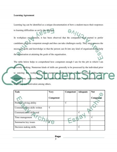 Work Placement in Hailong Hotel (Learning Log) essay example
