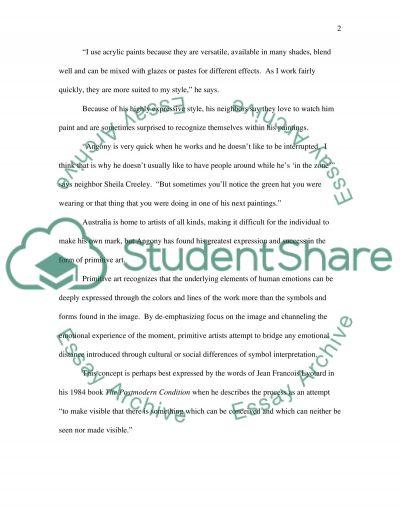 Hard news essay example