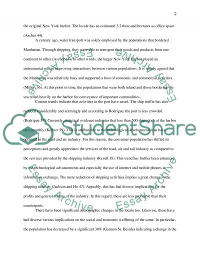 marine trasportation term paper Instructions for authors page 1 writing a paper for the transportation research record the creative part of the project writing a technical paper is a difficult task.