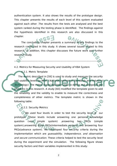 Knowledge based authentication by user activity and Emai/SMS essay example