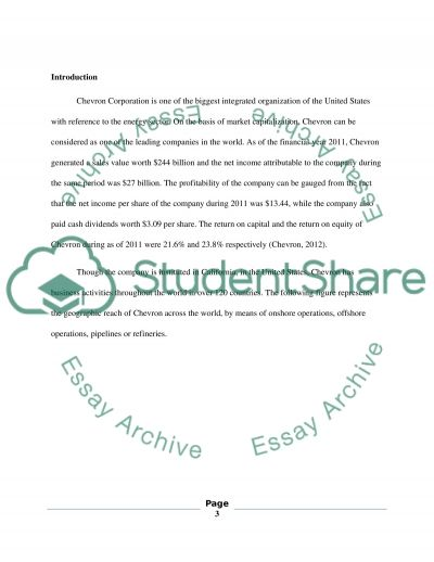CORPORATE RESEARCH PAPER essay example