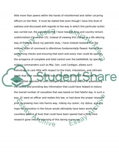 essays on hope in the unseen grade empowerment essay charge of the light brigade comparison to after blenheim essay essay preview cpalms
