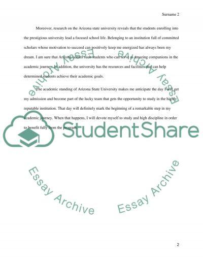 Admission essay services asu
