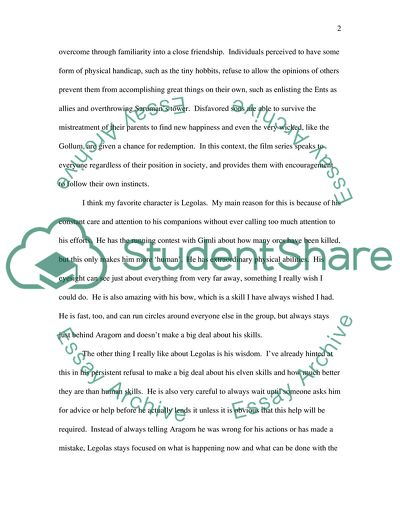 Essay on jrr tolkien book report parts