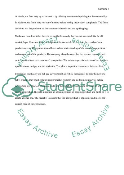 Answer A Short Essay Style Question Of Marketing Npd New Product Answer A Short Essay Style Question Of Marketing Npd New Product Development