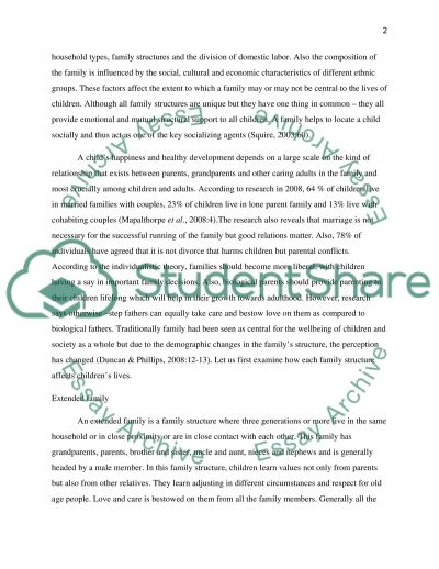 my family structure essay Examples of family essay topics, questions and thesis satatements custom-essaysorg custom essay writing service custom essay / essay tags / services & prices how it works about us contact us site map how to write an essay types of essay essay structure thesis sign in family essays.