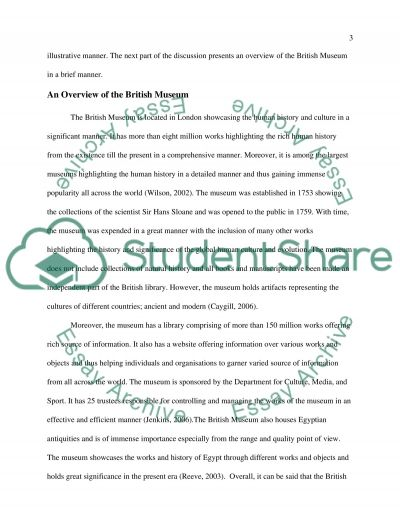 Cultures of Exhibition and Display essay example