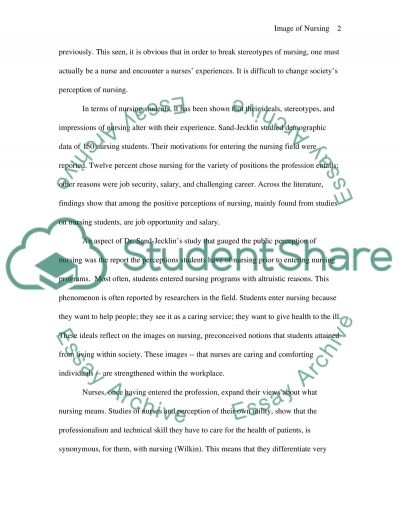 Images of Nursing essay example