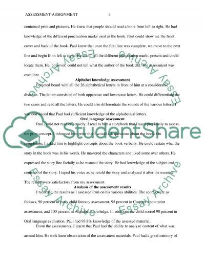 ECE 410 Assessment Assignment