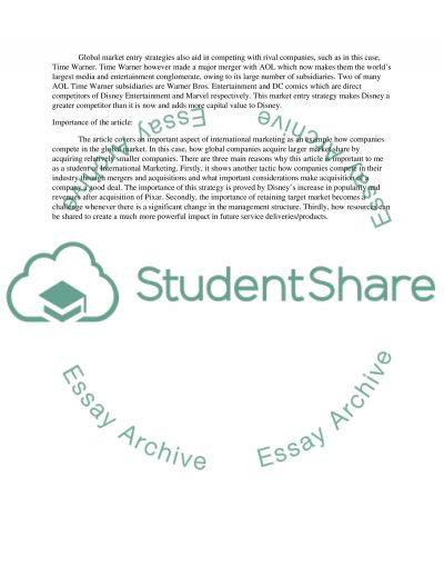 MKT Assignment 01 essay example