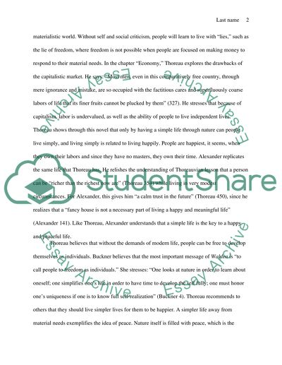 Narrative Essay Topics For High School Students Thoreaus Walden Freedom Through Transcendentalism Examples Of Thesis Statements For Argumentative Essays also Essays On Health Care Reform Thoreaus Walden Freedom Through Transcendentalism Essay Essay Thesis Statement Generator