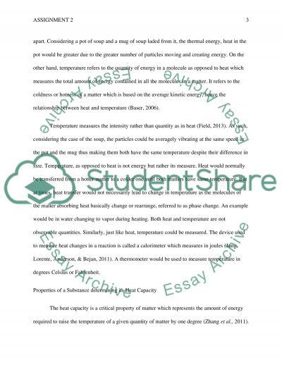 Assigment 2 essay example