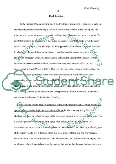 Example Of Essay Proposal Book Banning Read Textpreview Essays On Importance Of English also Research Essay Proposal Book Banning Essay Example  Topics And Well Written Essays   Words Example Of Essay Proposal