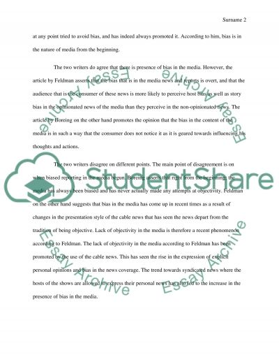 Article Analysis Essay Essay example