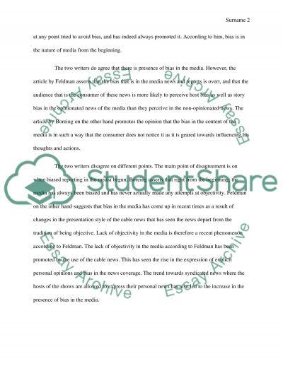 Article Analysis Essay essay example