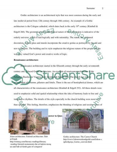 Romanesque Architecture and Renaissance Architecture Compared