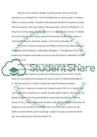 Descriptive Essay Topics For High School Students Descartes Essay Essays About High School also Process Essay Example Paper Descartes Essay  Biggest Paper Database Making A Thesis Statement For An Essay