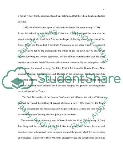 us involvement in vietnam timeline