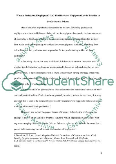 Australian law essay example