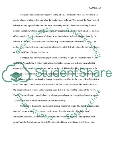 Reflection Paper Education