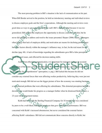 Sterling Financial Study essay example