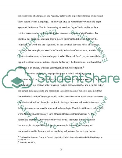 Language and Ideology essay example