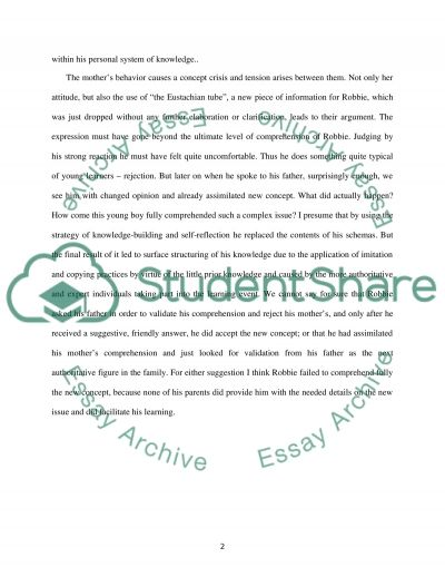 Psychology of Learning essay example