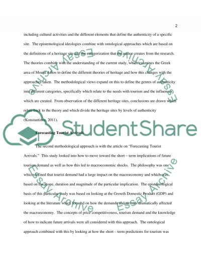 Research philosophies and principles Essay example
